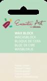 AE Nr.35 wasblokjes 1 st - pastel cream / Blocs de Art Encaustique 1 pcs - pastel créme / Arts Encaustic Blöcke 1 St - pastel cream_9