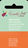 AE Nr.38 wasblokjes 1 st - neonoranje / Blocs de Art Encaustique 1 pcs - fluo orange / Arts Encaustic Blöcke 1 St - neonorange_9