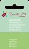 AE Nr.40 wasblokjes 1 st - neongroen / Blocs de Art Encaustique 1 pcs - fluo vert / Arts Encaustic Blöcke 1 St - neongrün_9