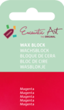 AE Nr.42 wasblokjes 1 st - magenta / Blocs de Art Encaustique 1 pcs - magenta /Arts Encaustic Blöcke 1 St - magenta_9