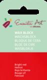 AE Nr.43 wasblokjes 1 st - felrood / Blocs de Art Encaustique 1 pcs - rouge vif / Arts Encaustic Blöcke 1 St - feuerrot_9