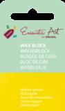 AE Nr.44 wasblokjes 1 st - middengeel / Blocs de Art Encaustique 1 pcs - jaune moyen / Arts Encaustic Blöcke 1 St - mittel gelb_9