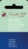 AE Nr.46 wasblokjes 1 st - cyan blauw / Blocs de Art Encaustique 1 pcs - cyan bleu / Arts Encaustic Blöcke 1 St - cyan blau_9