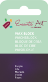 AE Nr.48 wasblokjes 1 st - paars / Blocs de Art Encaustique 1 pcs - pourpre / Arts Encaustic Blöcke 1 St - purpur_9