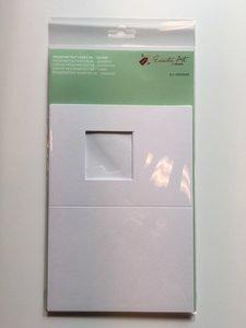 Passepartout kaarten + envelop assorti